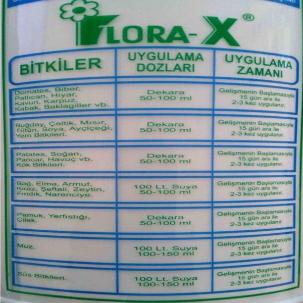 bitki antifirizi flora-x