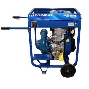 Hyundai DHYD100LE yüksek basinçli su Motoru